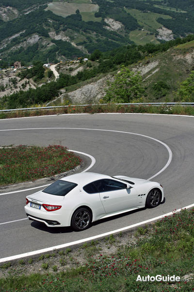 maserati sitting on rims